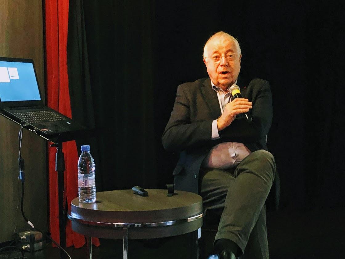 Jean-Robert Pitte, géographe, écrivain et spécialiste du paysage et de la gastronomie /crédit phot JDL