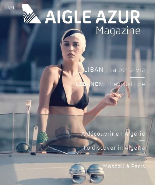 """Aigle Azur diffuse son nouveau magazine de bord """"totalement repensé"""" - Crédit photo : Aigle Azur"""
