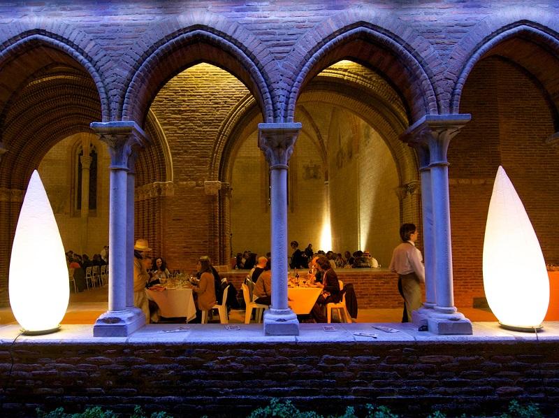 Ce joyau médiéval niché dans le vieux Toulouse, avec cloître et clocher gothique méridional, est accessible au grand public en journée… et privatisable le soir - DR : Ville de Toulouse