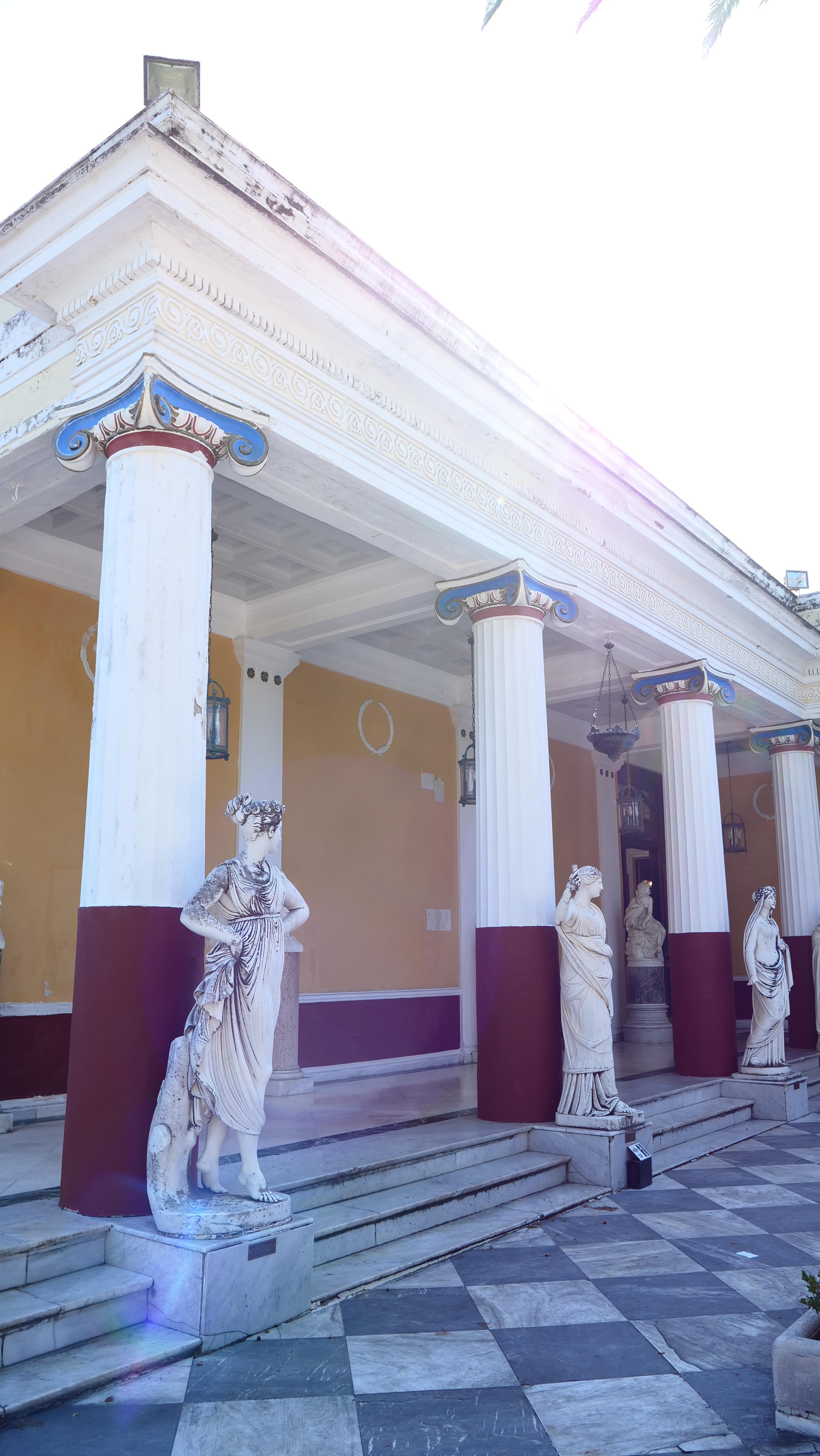 Le Palais d'Achilleon © LM