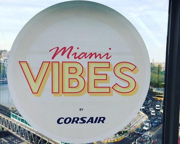 Corsair : le lancement de la ligne vers Miami a pris de la hauteur à Paris (photos) - Crédit photo : Corsair