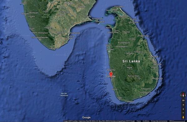 Sri Lanka : après les attentats les voyageurs annulent massivement - Crédit photo : Google Maps