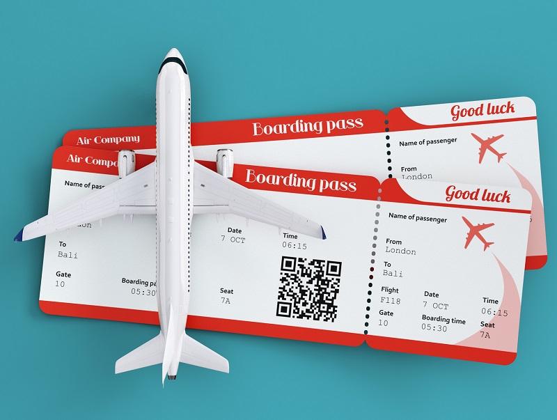 Il est possible pour la compagnie aérienne d'imposer dans ses conditions de transport l'utilisation séquentielle des billets, liée à un tarif particulier - DR : DepositPhotos, Vadmary