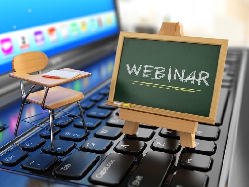 Outils marketing ou de formation, les webinars sont des séminaires animés par des professionnels et diffusés sur le web. - Depositphotos
