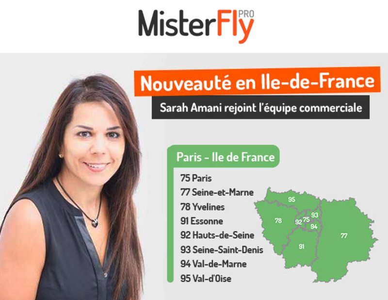 Sarah Amani bénéficie d'une expérience de près de 25 ans dans l'industrie du tourisme - DR : MisterFly