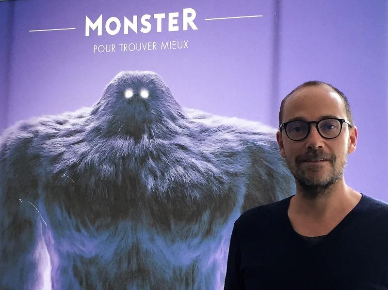 """Karl Rigal (Monster.fr) : """"une marque ou une entreprise doit être en mesure de générer de l'envie et de l'intérêt chez le collaborateur auquel elle fait appel"""" - DR : Monster France"""