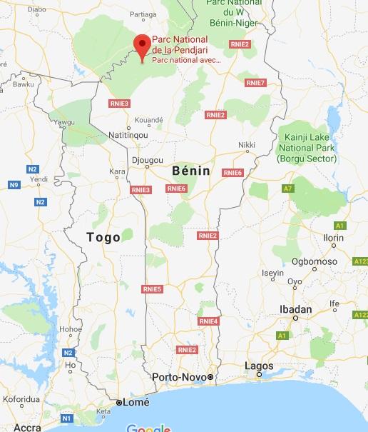 Deux touristes et un guide ont disparu alors qu'ils visitaient le parc de la Pendjari (nord du Bénin) - DR