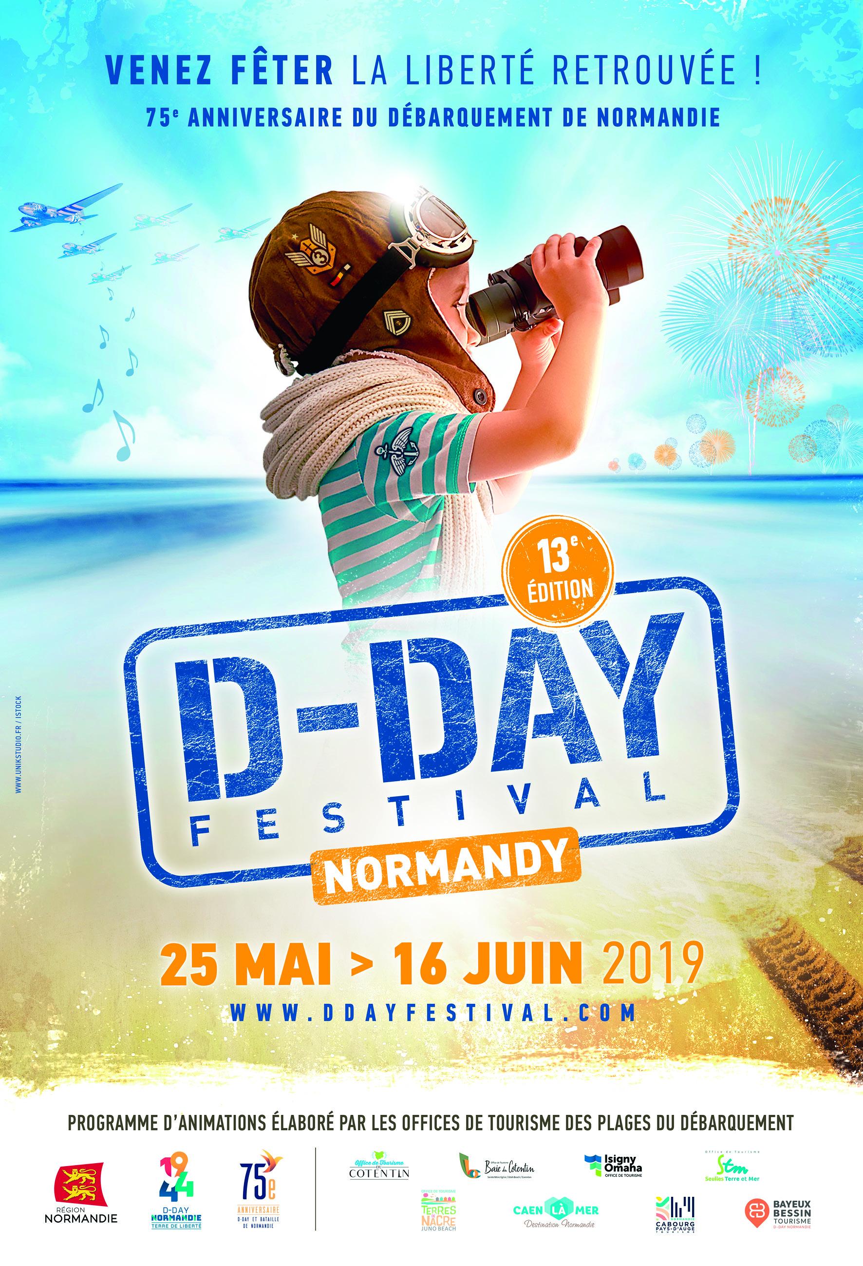 D-Day Festival Normandy fêtera le Débarquement sur les plages de Normandie