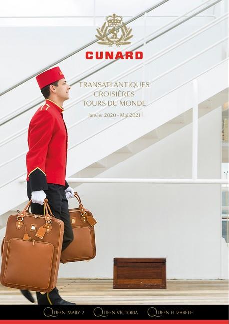 La brochure Cunard éditée à 30 000 exemplaires - DR