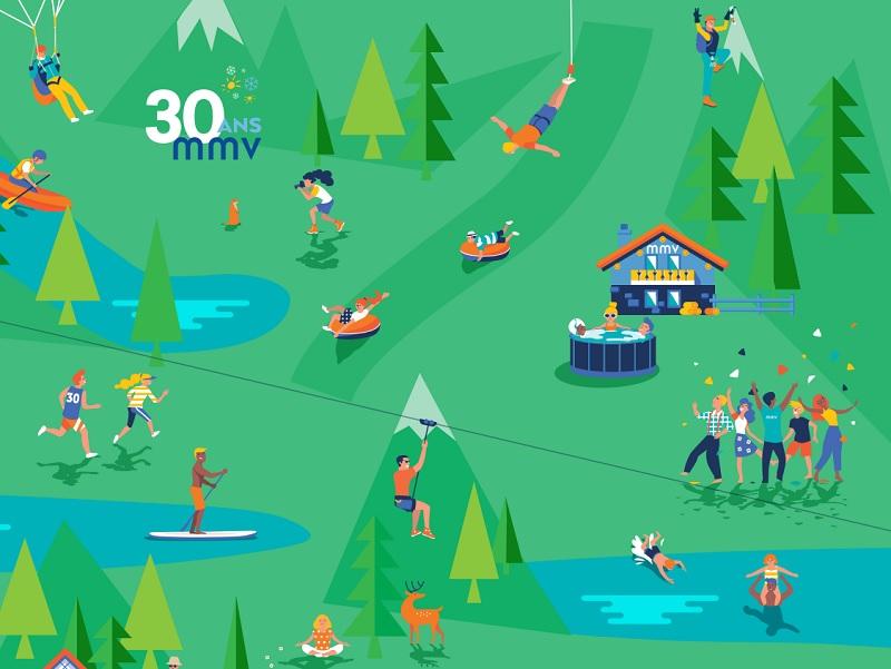 Les loisirs outdoor, les vacances en famille et les activités liées au bien-être apparaissent comme des facteurs décisifs, spécifiquement pour les moins de 35 ans - DR : mmv