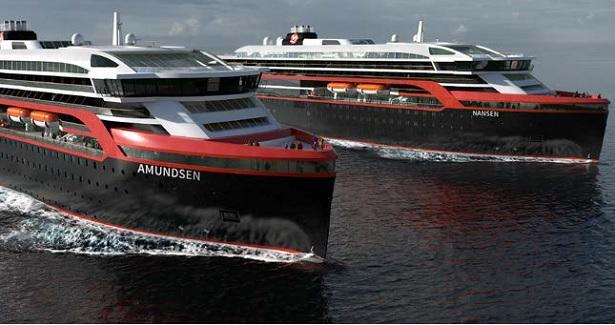 Brochure 2020/21 : Hurtigruten programme 25 départs avec accompagnateur français - Crédit photo : hurtigruten
