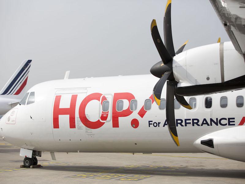 Depuis 2013, les pertes cumulées par les activités domestiques d'Air France s'élèvent à 717M€ ©Hop Air France