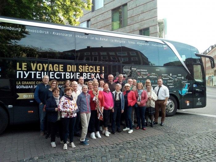 13 participants partaient de Brest samedi 11 mai 2019 - DR Salaün