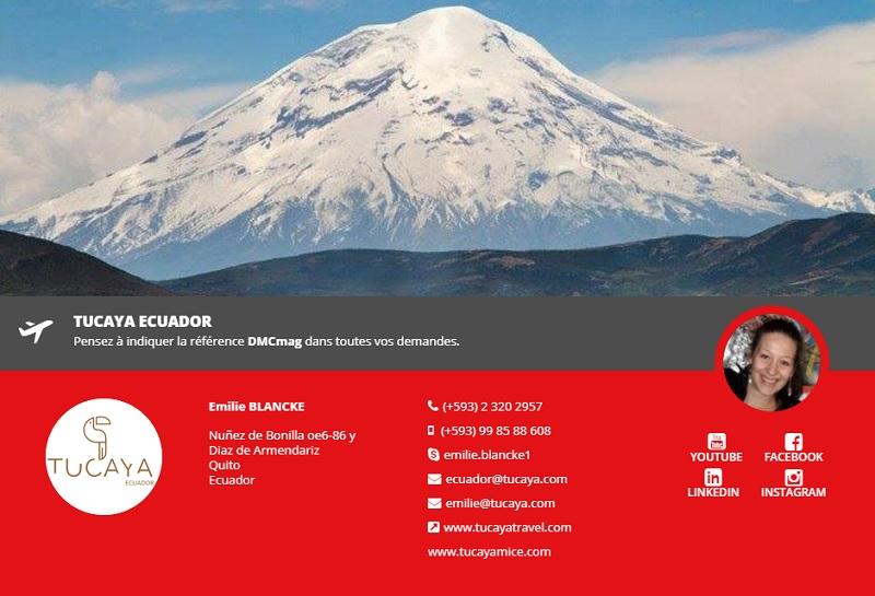 Tucaya Ecuador rejoint DMCMag.com - DR