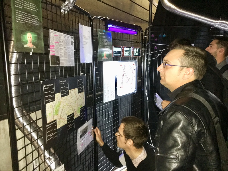 Une activité escape game, organisée pendant le forum Vive le Train, les 13 et 14 mai 2019,  a permis aux observateurs de la SNCF de repéré les soft skills des candidats. - CL