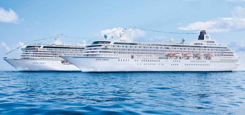 La compagnie américaine de luxe a sélectionné 30 croisières qui proposeront des événements exclusifs à bord et pour certaines des réductions allant jusqu'à 5% - DR : Crystal Cruises