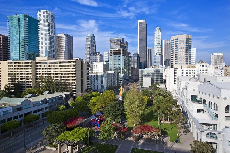 Vue de la ville de Los Angeles - LA Tourism