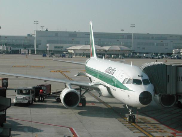 Alitalia a été contrainte d'annuler la moitié de ses vols prévus ce jour-là, ainsi que certains vols prévus pour la fin de la soirée du 20 mai et tôt le matin du 22 mai - DR : Alitalia