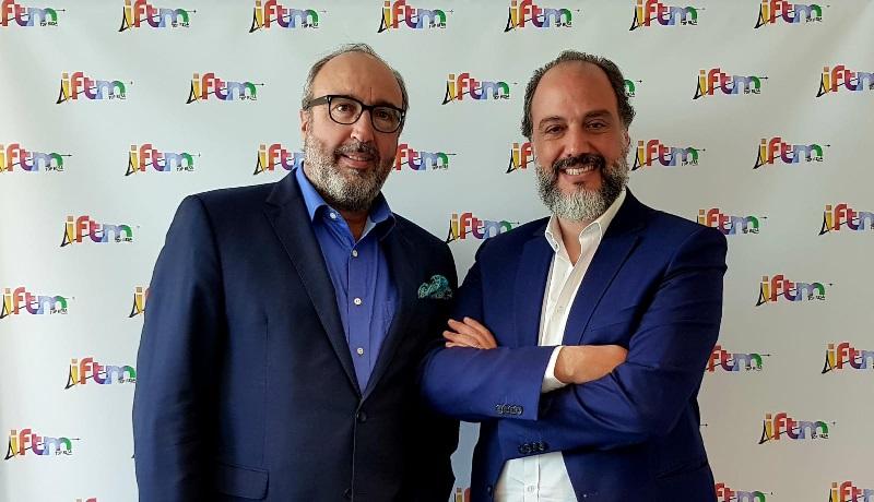 Frédéric Lorin, Directeur Général d'IFTM TOP RESA et Ziad Minkara, Directeur Général de CDS Groupe - IFTM