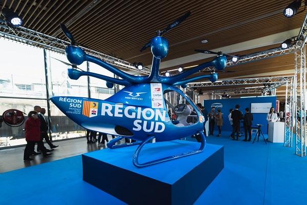 Hovertaxi veut créer le transport urbain du futur avec son hélicoptère électrique - Crédit photo : Hovertaxi