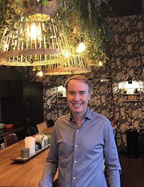 Olivier Kervella au sein de l'atelier Kappa ouvert en mai 2019 à Paris - DR