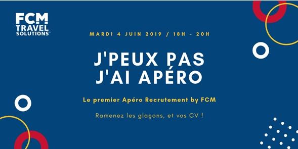 FCM France organise son premier Apéro Recrutement le 4 juin 2019 - DR