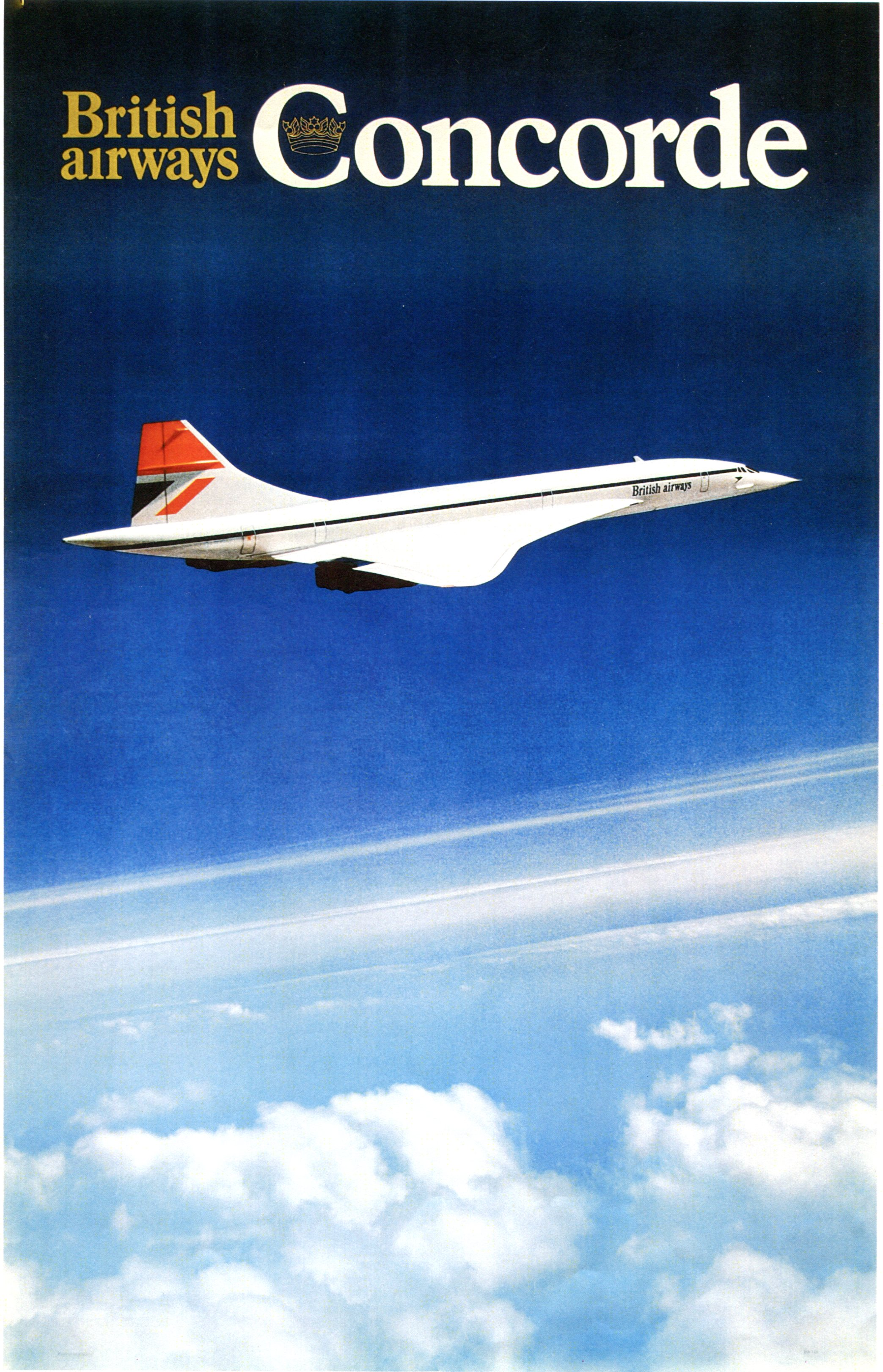 Concorde, l'avion supersonique en avance sur son temps, retiré de la flotte en 2003 - DR : British Airways