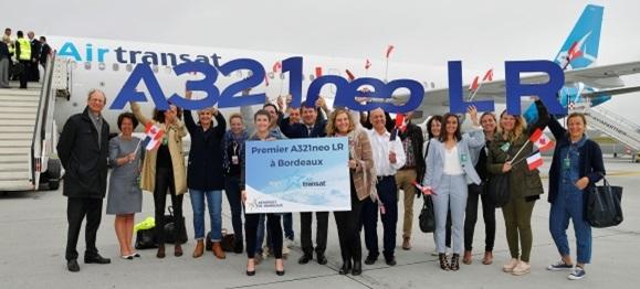Air Transat a renforcé son offre pour l'été 2019 grâce à l'ajout d'une fréquence hebdomadaire au départ de Bordeaux vers Montréal.  - DR