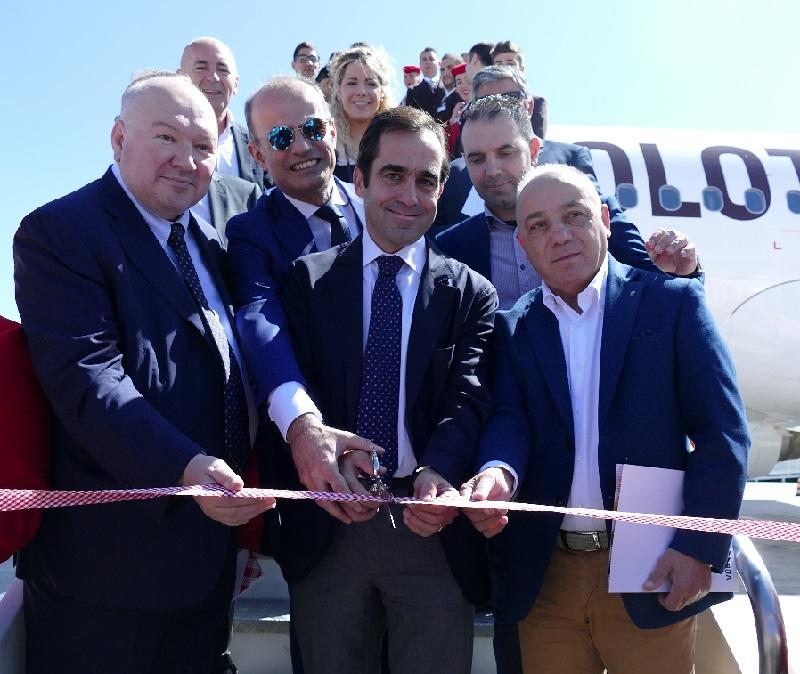 Inauguration de la base à Cagliari - DR