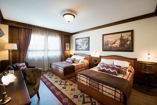 Une chambre de l'Hôtel Colorado Creek - Crédit photo : PortAventura