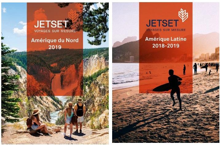 Les brochures Jetset 2019 - DR