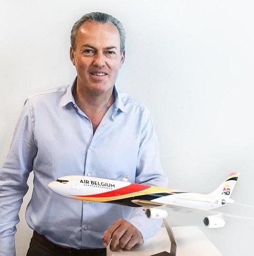 Philippe Wilmart directeur commercial d'air Belgium - DR