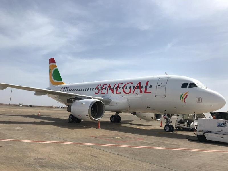 L'A319 d'Air Sénégal - DR