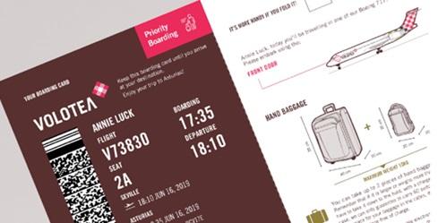 carte d embarquement volotea sur mobile Volotea propose désormais l'embarquement prioritaire