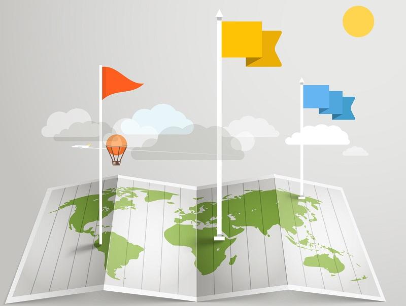 Les systèmes GPS, les appareils intelligents, les cartes papier ou numériques et les images satellites sont tous des outils qui dépendent des données spatiales. Plusieurs d'entre eux sont essentiels à de nombreux voyageurs - Depositphotos.com tovovan_