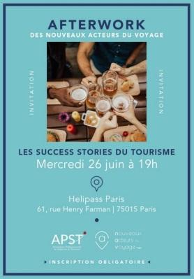 """NAV by APST : """"Les Success Stories du Tourisme"""" au cœur du 3e afterwork 2019"""