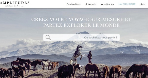 Amplitudes modernise son site pour une navigation optimale et inspirationnelle - Crédit photo : Amplitudes