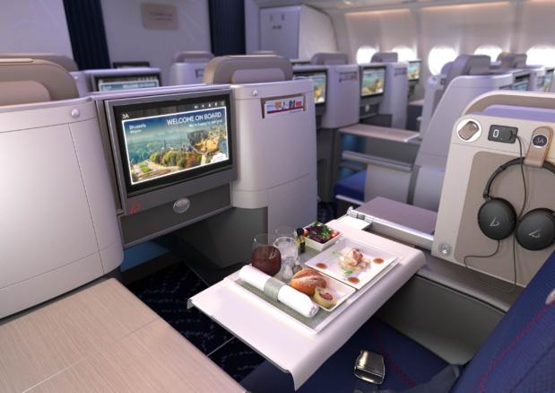 La nouvelle cabine Brussels Airlines - DR