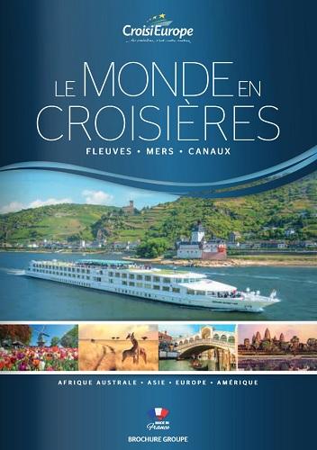 La nouvelle brochure groupes de CroisiEurope - DR