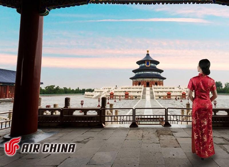 Dès le 2 août 2019, Air China assurera une liaison régulière entre Nice Côte d'Azur et Pékin - DR : Air China