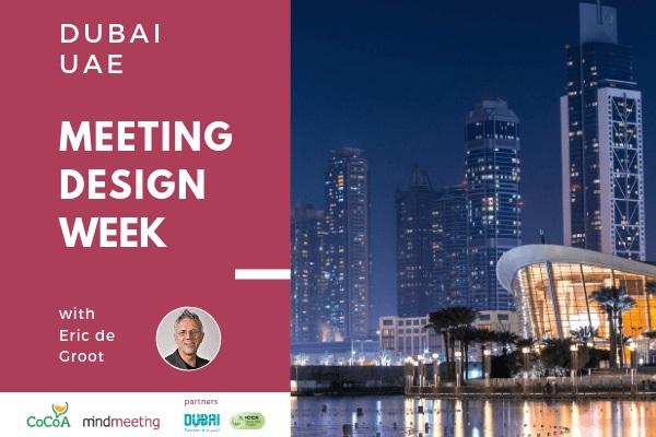 Dubaï va accueillir la prochaine Meeting Design Week (MICE) - Meeting Design Week