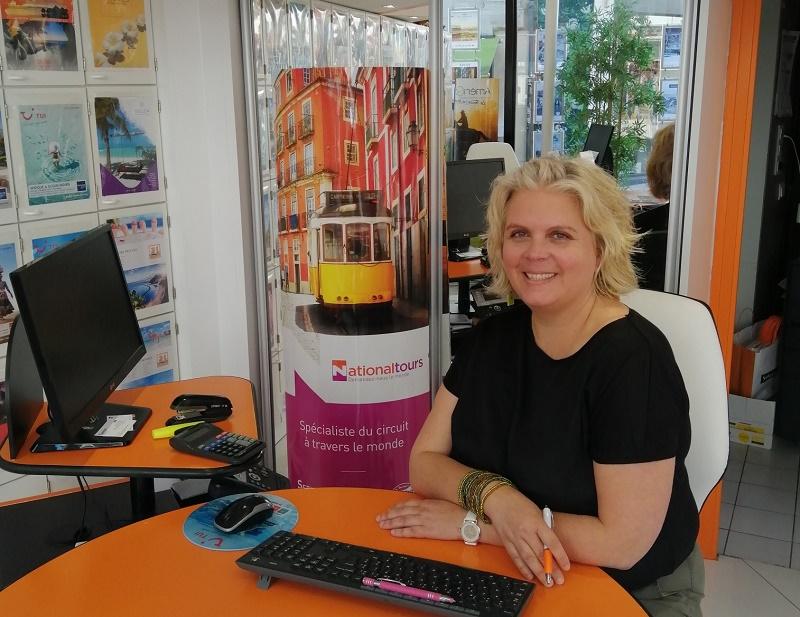 Sabrina Begault reste aux commandes de l'agence angevine - DR : Salaün