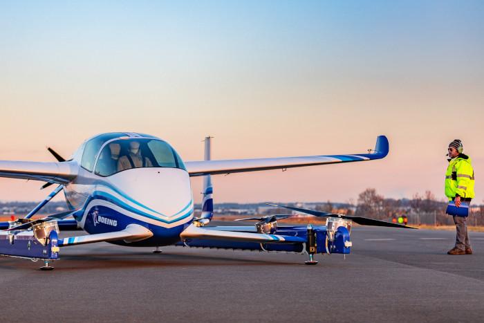 Boeing, comme Airbus, planche sur des appareils capables de voler en toute autonomie ©Boeing