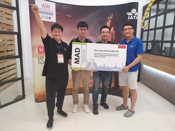 IATA : une entreprise chinoise remporte le hackathon - Crédit photo : PKFARE
