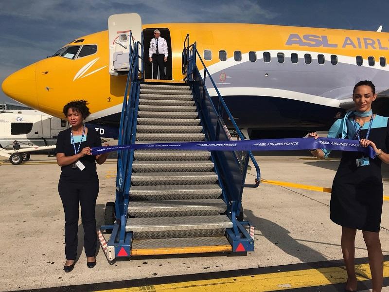 Depuis le 24 juin, Belgrade est desservie deux fois par semaine le lundi et le jeudi jusqu'au 5 septembre - DR : ASL Airlines