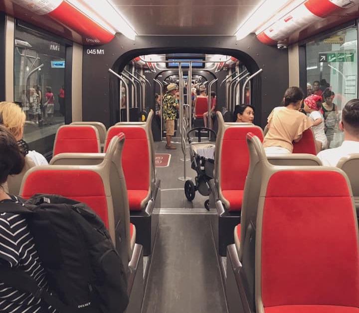 La ligne 2 du tramway niçois relie désormais le centre-ville depuis l'aéroport Nice Côte d'Azur - DR : Nice Tourisme