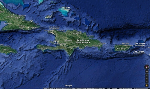 Haïti : de possibles barrages sur la route vers l'aéroport - Crédit photo : Google Maps