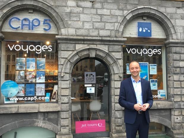 Cap 5 possède 12 agences de voyages, depuis la reprise de l'agence Thomas Cook située au Touquet, et la fermeture des agences de Tourcoing et de Lille Faidherbe - DR : Cap 5 Voyages