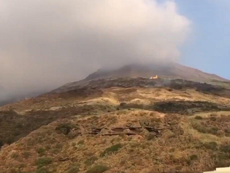 Le Ministère des Affaires Etrangères conseille d'éviter de se rendre sur l'île dans l'immédiat - DR : Twitter Dipartimento Protezione Civile