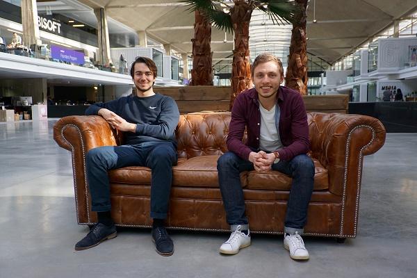 Axel Guidicelli et Lancelot Hardel  les deux fondateurs d'Ulysse - Crédit photo : Ulysse